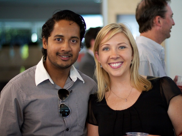News_Houston Young Professionals_Culture Collision_May 2012_Naveen Selvam_Sarah Scollon