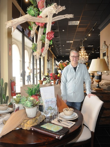 Gallery Furniture Chef Collection, April 2013, Robert Del Grande, Robert Del Grande Chef Collection