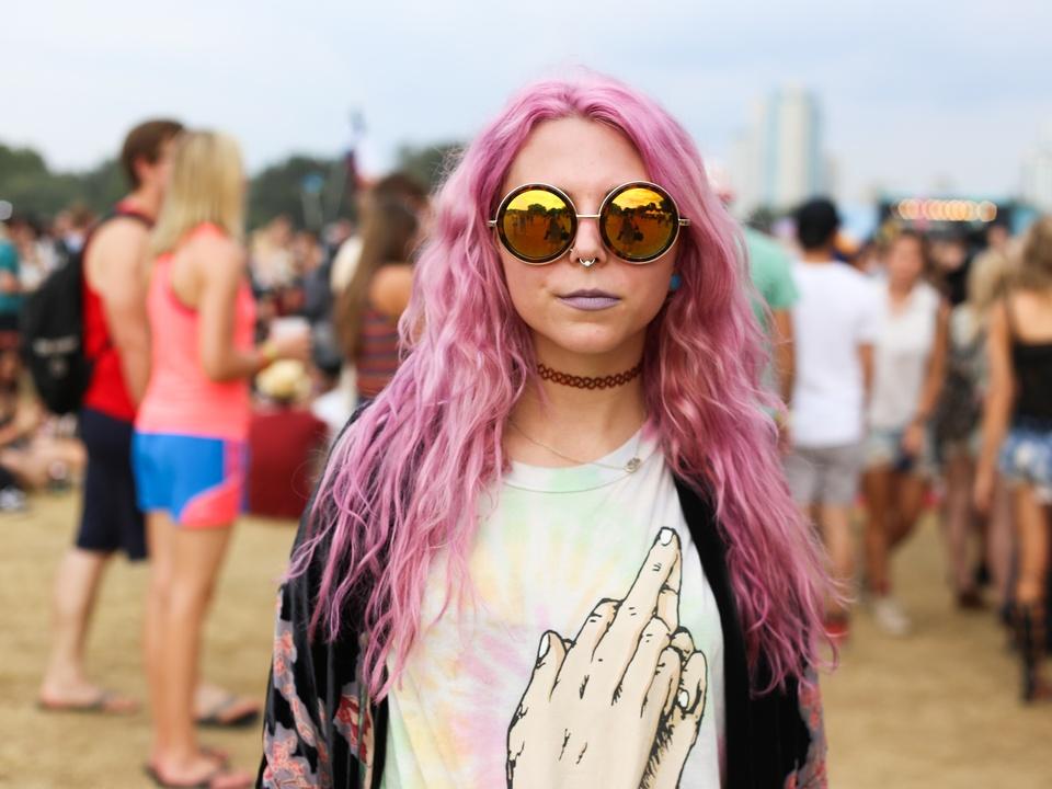 Austin City Limits Festival ACL 2015 Street Style Kaitlyn Santos