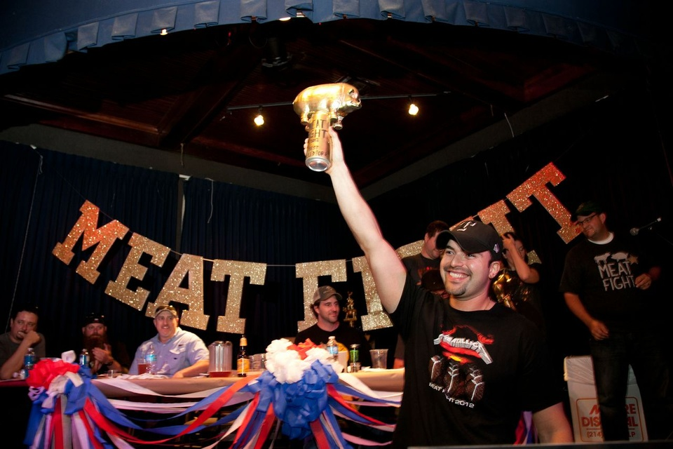 Omar Flores at Meat Fight in Dallas