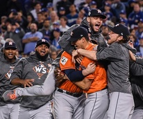 Houston, Astros win World Series, November 2017