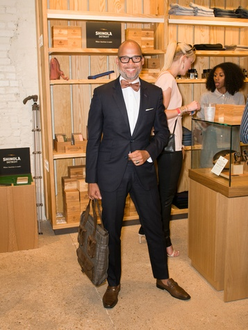 Jackson at Steven Alan store opening in Dallas