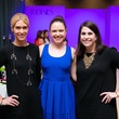 Junior League luncheon, 9/16, Kendall Hanno, Anne Sears, Abbey Roberson