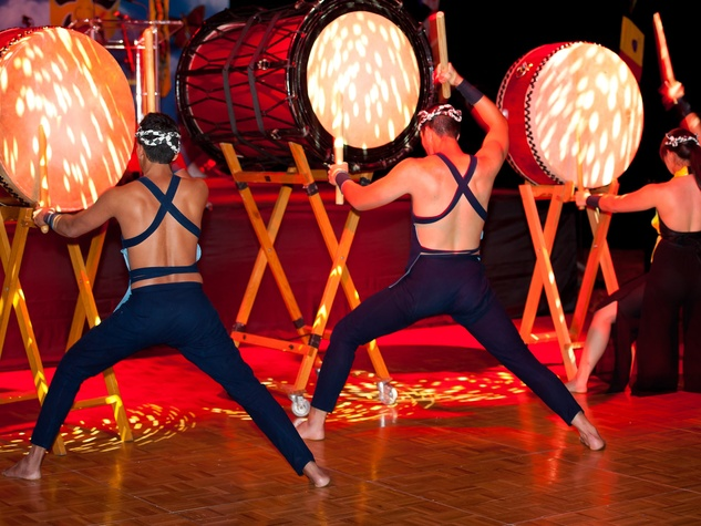 News_Asian Society Gala_Performers Kaminari Taiko
