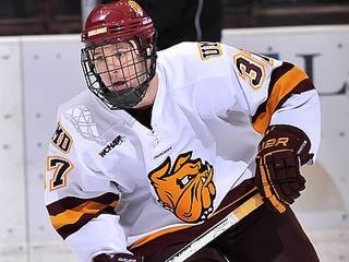 News_Justin Fontaine_Aeros_hockey player
