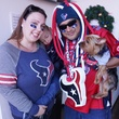 Holly Carrico, from left, Gabriel, Chris Wiggin and Chewie at Friends for Life Texans TAILgate party November 2013