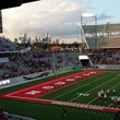 News, Shelby, UH Stadium Suite Life, Sept. 2014, stadium view
