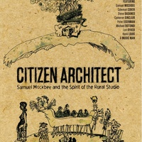 poster for Citizen Architect documentary film about Samuel Mockbee