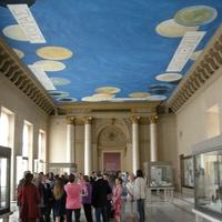 Louvre Paris tour July 2013 Twombly ceiling