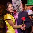 Kari and Noah Wexler at the St. Luke's PULSE Saints & Sinners Halloween party October 2013