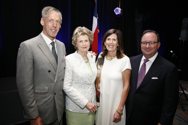 Menninger Luncheon, May 2015, Chris Knapp, Letty Knapp, Vivie O'Sullivan, Chris O'Sullivan