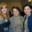 1 Gracie Cavnar, from left, Ginni Mithoff and Beth Madison at the Future of Leadership luncheon April 2014