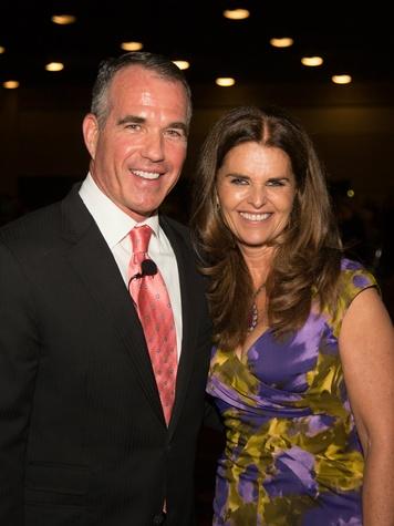 Jeff Brady, Maria Shriver,