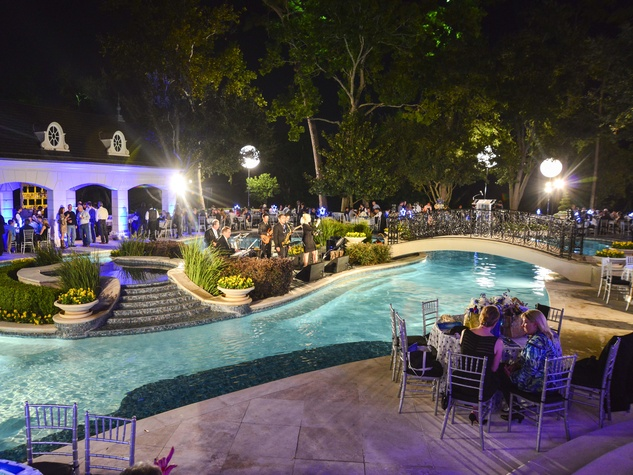 22 The venue in the Fertitta's back yard at the True Blue Gala October 2013