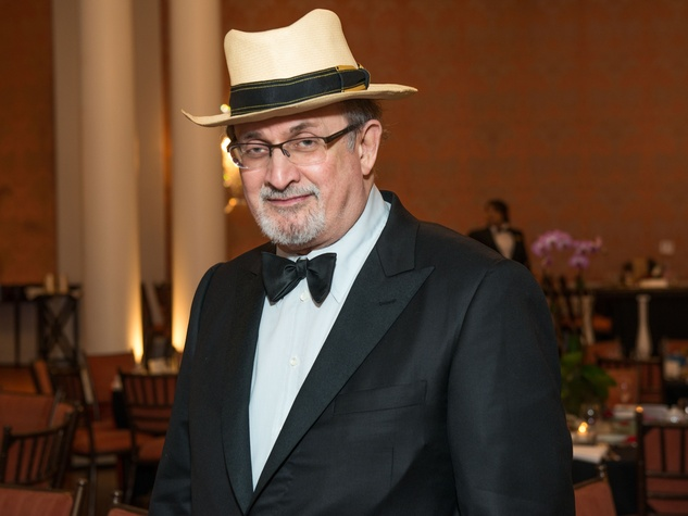Salman Rushdie at the Inprint Ball February 2015