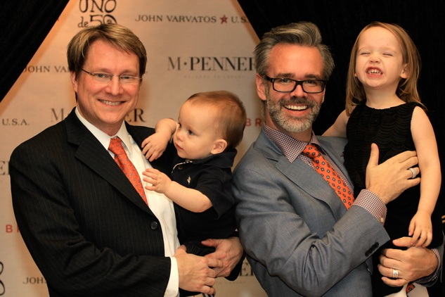 11 Matt Burrus, son, Michael Pearce & Daughter Estelle at M Penner Recipe for Success February 2015