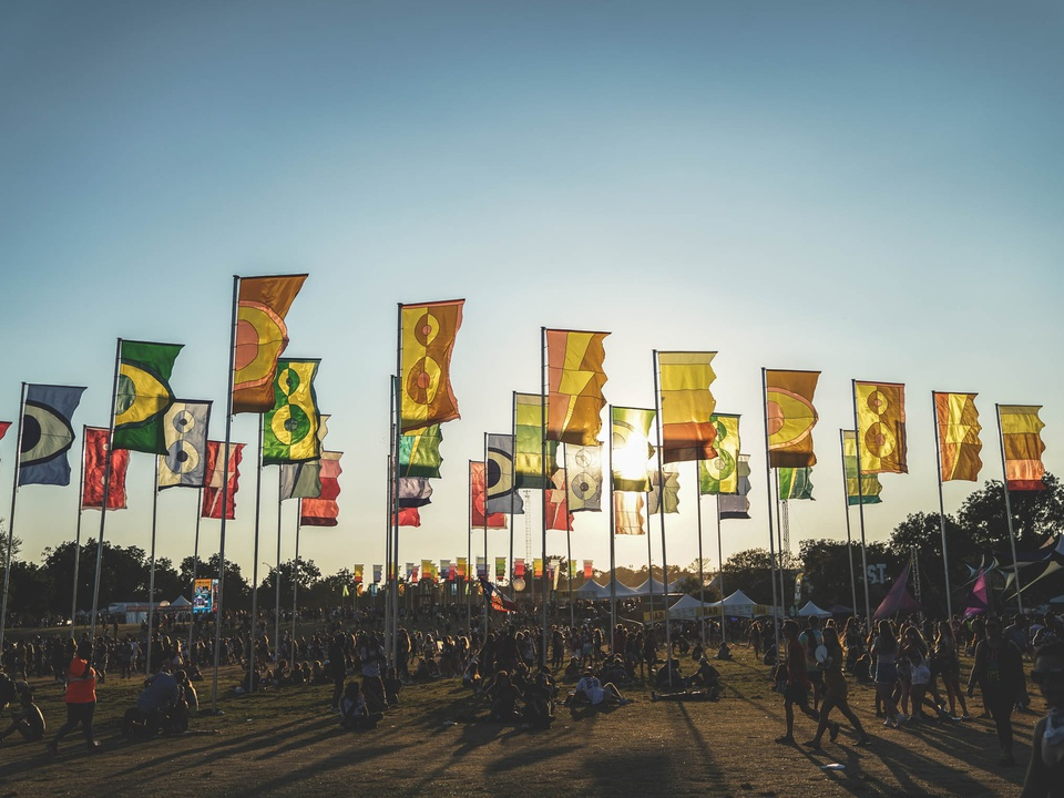 Austin City Limits Festival ACL Fest 2017 Weekend Two Flags