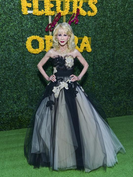 14 Diane Lokey Farb Zuhair Murad at the Opera Ball April 2014