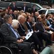 Houston, Mosbacher Bridge launch event, January 2016, President George Bush, Barbara Bush