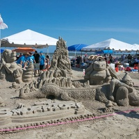 houston houzz series june 2017 sandcastle contest smurf and turf - Home Design Houston