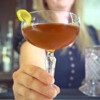Run Forest Run cocktail from Houston bartender Judith Piotrowski