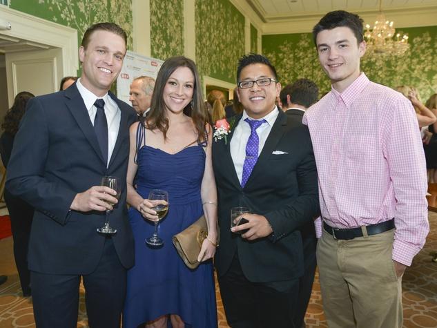 8 Leukemia & Lymphoma Society Houston Man & Woman of the Year June 2013 Aaron Webb, Christina Webb, Phuc Dang, Caleb Dunn