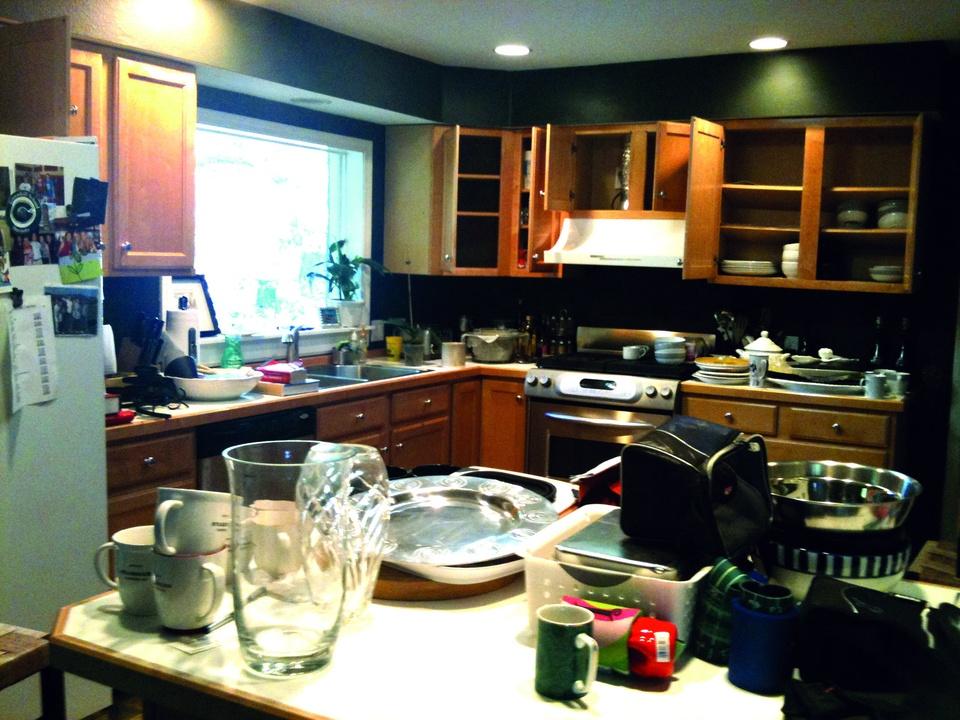 Leslie Ezelle kitchen before
