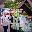 228 D.B. Wilson, Perry Gallatin and Pearl Harper at the Art Car Ball April 2015