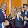 UH Law Center Arrival Awards, George Foreman, Sofia Adrogue, Dr. Adan Rios, Taseer Badar, March 2014