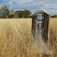 Cemetery in Thurber, Texas