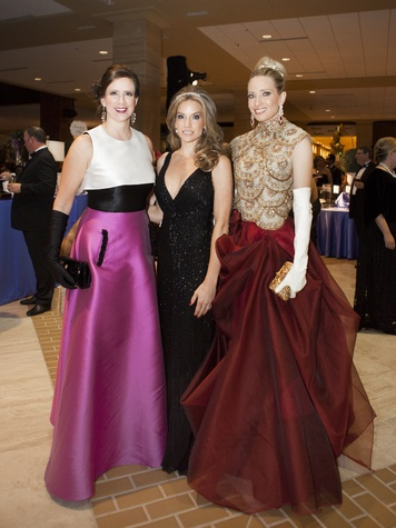 J.B. Hayes, Cary Deuber, Courtney Ridel, Crystal Charity Ball 2014