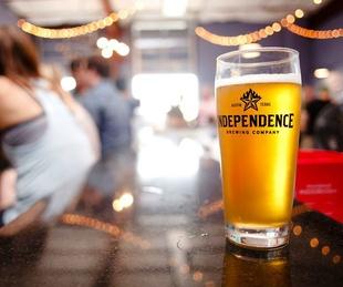 Independence Brewing Co beer Tasting Room 2015