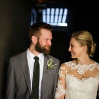 Katie Van Dyk Ben Nelson real wedding-downtown