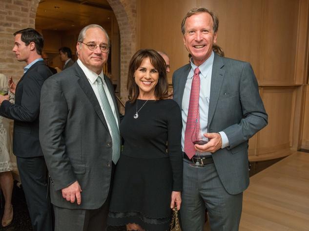 News, Shelby, French Ambassador dinner, April 2015, Tony Petrello, Maria Bush, Neal Bush