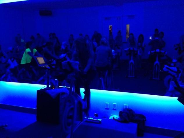 Austin Photo Set: News_Caitlin_RIDE indoor cycling_april 2013_class