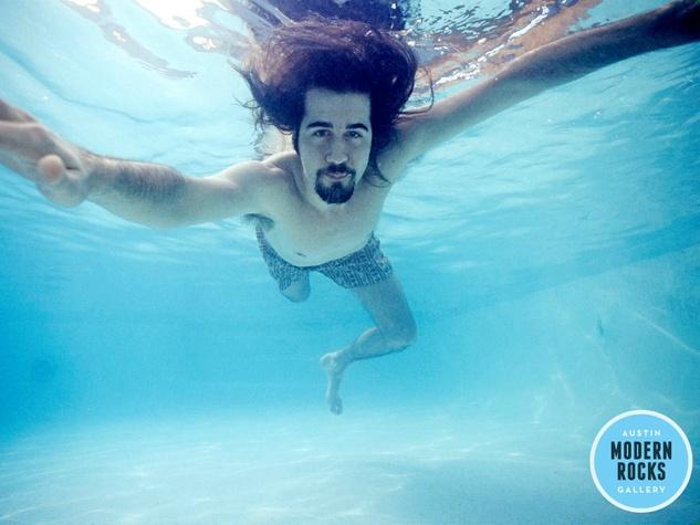 Nirvana_Nevermind_Krist Novoselic_pool_1991