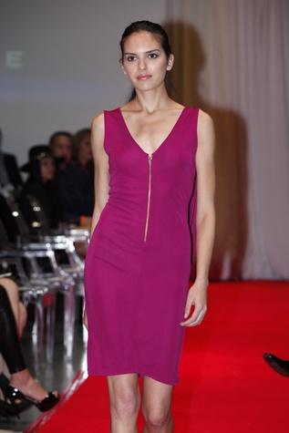 Model wearing Jonathan Blake at Fashion Woodlands with Theresa Roemer March 2015