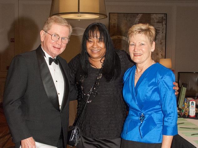 2 Santa Maria Gala May 2013 J. Byron and Sandy Wake and Amelia Murphy