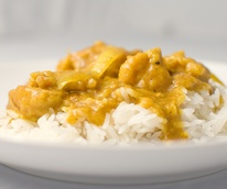 News_chicken curry_rice