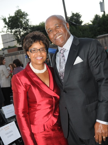 25 Rosa and Willie Stanfield at the Dress for Success 15th anniversary party October 2013