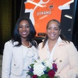 1517 Dr. Kathy Flanagan, left, and Vernita Harris at the Career and Recovery Luncheon July 2014
