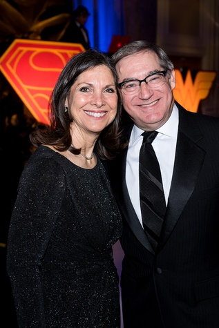 89 Nancy and Steve Lerner at the Jewish Community Center Children's Scholarship Ball March 2015