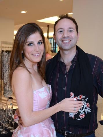 3 Laura Max Nelson and Ben Harwood Rose at Fashion Gene at Tootsies May 2014