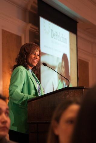 Melanie Lawson at the DePelchin Children's Center luncheon April 2014