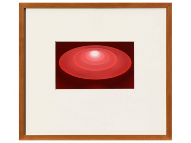 From The Guggenheim  James Turrell September 2014 James Turrell, From The Guggenheim, 2013, Untitled, Aquatint, RED Courtesy Hiram Butler Gallery