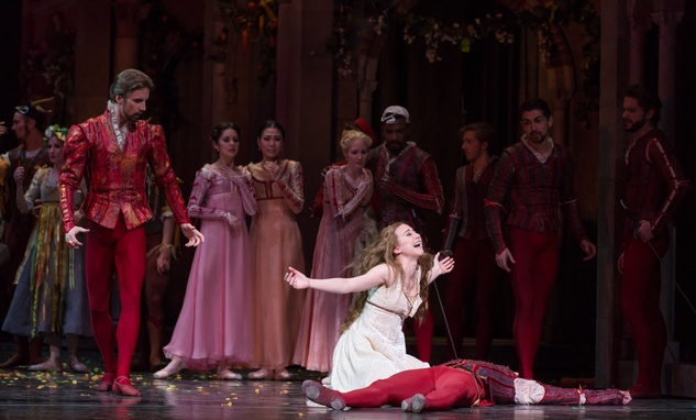 Houston Ballet Romeo and Juliet February 2015 Jessica Collado and Artists of Houston Ballet
