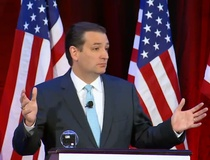 Katie Friel: What statement got Ted Cruz nominated for the 'Lie of the Year' award?