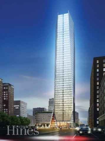 Hines Starts Marketing New Skyscraper on Block 69 Tower in Downtown Houston