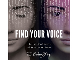 Book Launch: Find Your Voice with Sahar Paz