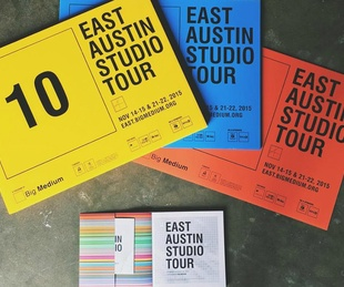 East Austin Studio Tour Big Medium signs catalog 2015